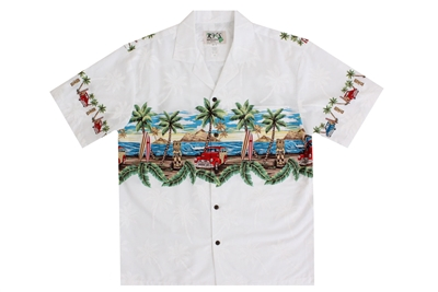 Tropical Womens Shirts